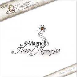 Timbro Magnolia Happy Memories Kit Rubber Stamp - SF-16