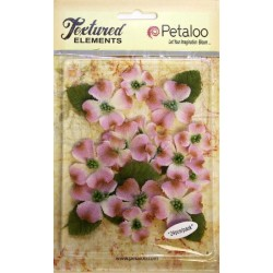 Fiori Petaloo Lavendar Dogwood Canvas 24 Pkg