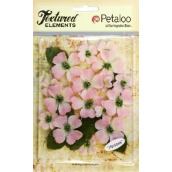 Petaloo Pink Dogwood Canvas 24 Pkg