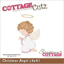 Christmas Angel Die CottageCutz