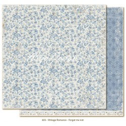 "Carta Forget Me not 12""x12"" Vintage Romance Collection Maja Design"