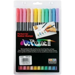Pastel Le Plume II Double Ended Marker Marvy Uchida