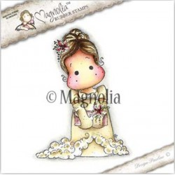 Prom Tilda with Flowers Rubber Stamp - SF-16