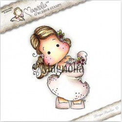 Timbro Magnolia Dancing Queen Tilda Rubber Stamp - SF-16
