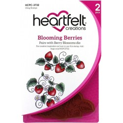 Blooming Berries Cling Rubber Stamps Heartfelt Creations