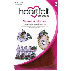 Sweet As Honey Cling Rubber Stamps Heartfelt Creations