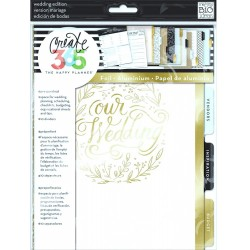 Wedding Create 365 Happy Planner Extension Pages Me & My Big Ideas