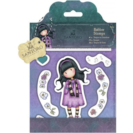Timbro Little Song Gorjuss Rubber Stamps Santoro
