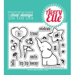 "Ellie Clear Stamps 4"" x 3"" Avery Elle"