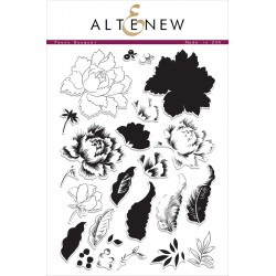 "Timbri Peony Bouquet Clear Stamps 6""x8"" Altenew"