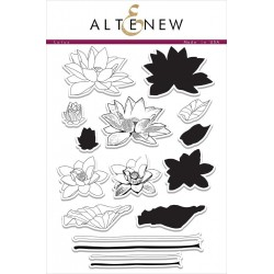 "Timbri Lotus Clear Stamps 6""x8"" Altenew"