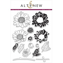 "Timbri Spring Daisy Clear Stamps 6""x8"" Altenew"