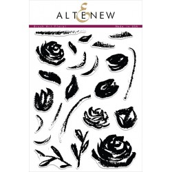 "Timbri Brush Art Floral Clear Stamps 6""x8"" Altenew"