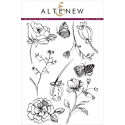 "Timbri Botanical Garden Clear Stamps 6""x8"" Altenew"