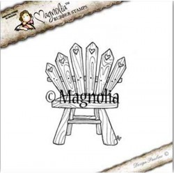 Timbro Magnolia Sea View Chair Rubber Stamp - SS-16