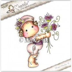 Tilda Bringing Flowers Rubber Stamp - SS-16