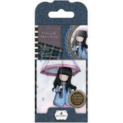 Timbro No. 16 Puddles Of Love Mini Gorjuss Rubber Stamps Santoro