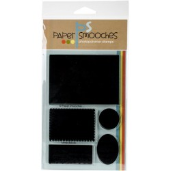 "Timbri Mirror Blocks Photopolymer Stamps 6""x4"" Paper Smooches"