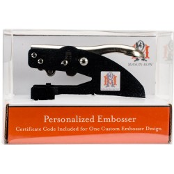 Personalized Embosser Set Mason Row