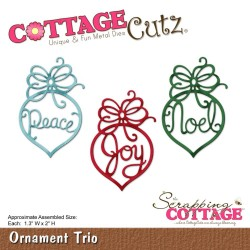 Ornament Trio Die CottageCutz
