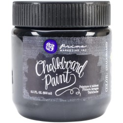 Chalkboard Black Chalkboard Paint Prima Marketing