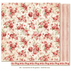 "Carta Smell the Roses 12""x12"" Summertime Collection Maja Design"