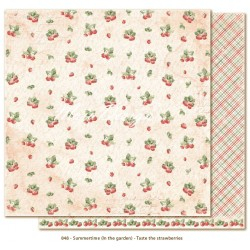 "Carta Taste the Strawberries 12""x12"" Summertime Collection Maja Design"