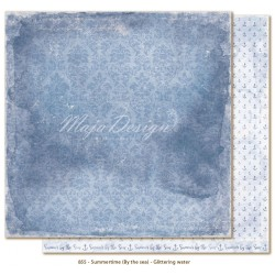 "Carta Glittering Water 12""x12"" Summertime Collection Maja Design"