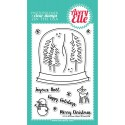 Timbri Snow Globe Clear Stamps Avery Elle