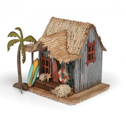 Village Surf Shack Bigz Die by Tim Holtz Sizzix