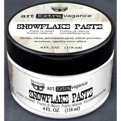 Snowflake Paste 4oz Art Extravagance by Finnabair Prima Marketing