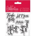 Contemporary Sentiments Clear Stamps Papermania Docrafts