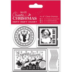 Postage Marks Clear Stamps Papermania Docrafts