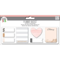 Rose Sticky Notepads Create 365 me&my Big Ideas