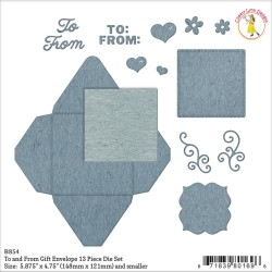 To & From Gift Envelope Die Set Cheery Lynn Designs