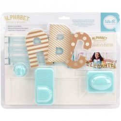 Alphabet Punch Board We'R Memory Keepers