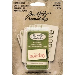 Holiday Flashcards Idea-Ology by Tim Holtz