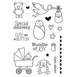 Special Delivery Clear Stamps Jane's Doodles
