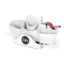 White Tool Caddy Big Shot Sizzix