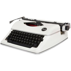 White Typecast Typewriter We R Memory Keepers
