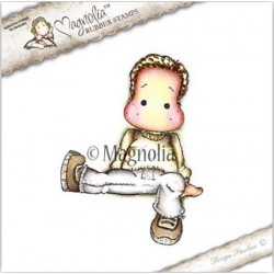 Timbro Sitting Cozy Edwin Magnolia Rubber Stamp - AH16