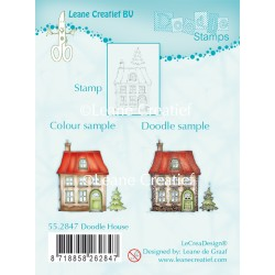 Doodle House Clear Stamp Combi Stamp Leane Creatief