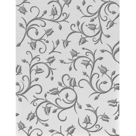 Dancing Roses Embossing Folder Ultimate Crafts