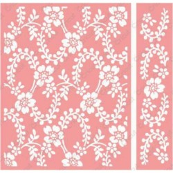 Treillage Embossing Folder Cricut Cuttlebug
