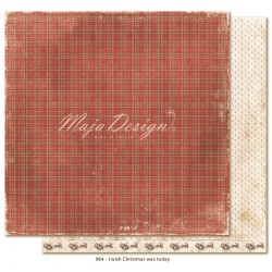 "Carta I wish Christmas was today 12""x12"" I wish Collection Maja Design"