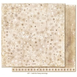 "Carta I wish for frosty mornings 12""x12"" I wish Collection Maja Design"