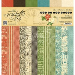 """Off to the Races 12"""" x 12"""" Patterns & Solids Graphic45"""