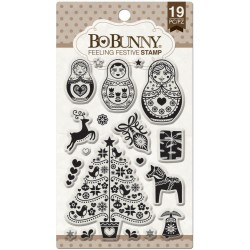 Feeling Festive Clear Stamps Bo Bunny