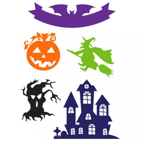 Halloween Icons Designer Cutting Dies Little B