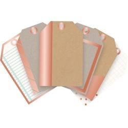 Typecast Mini Tags Copper We R Memory Keepers